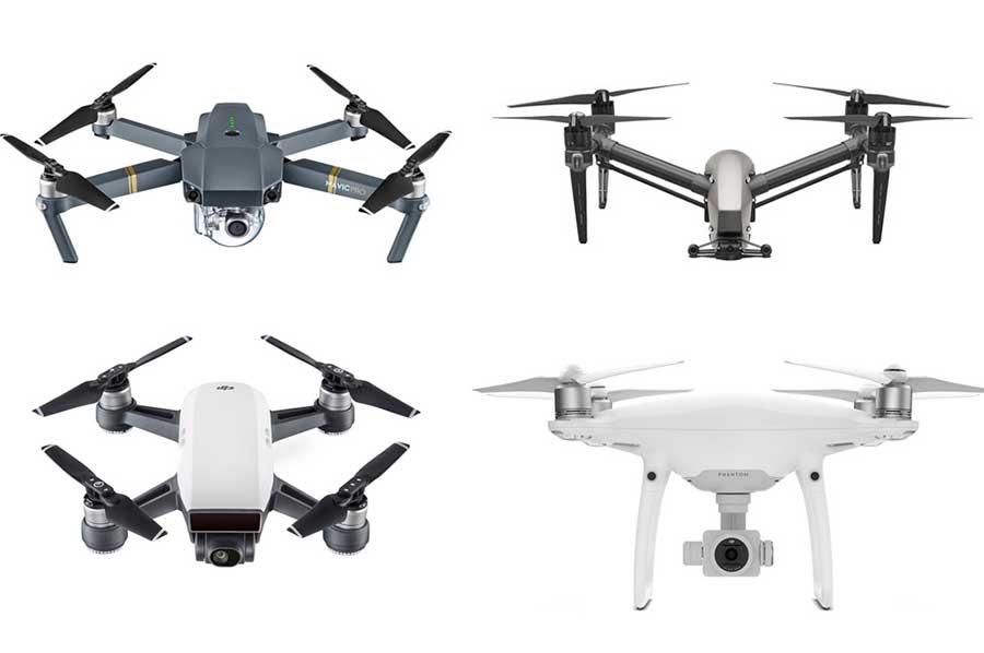 droni sempre più piccoli
